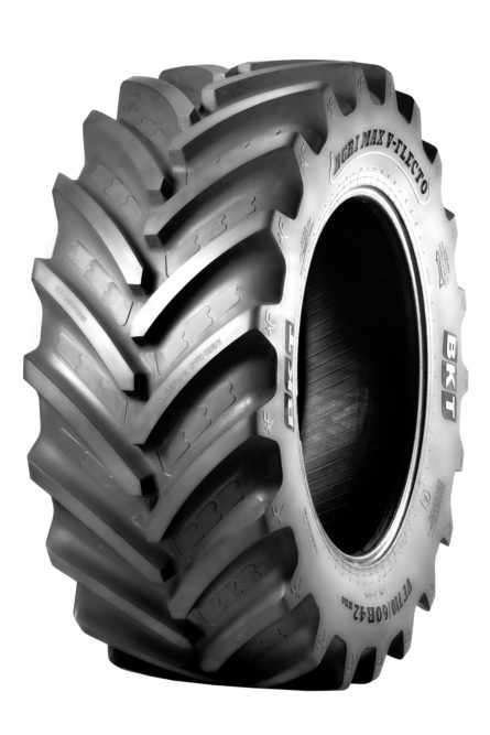BKT Displays Its Agrimax Ag Tires at FIMA in Spain