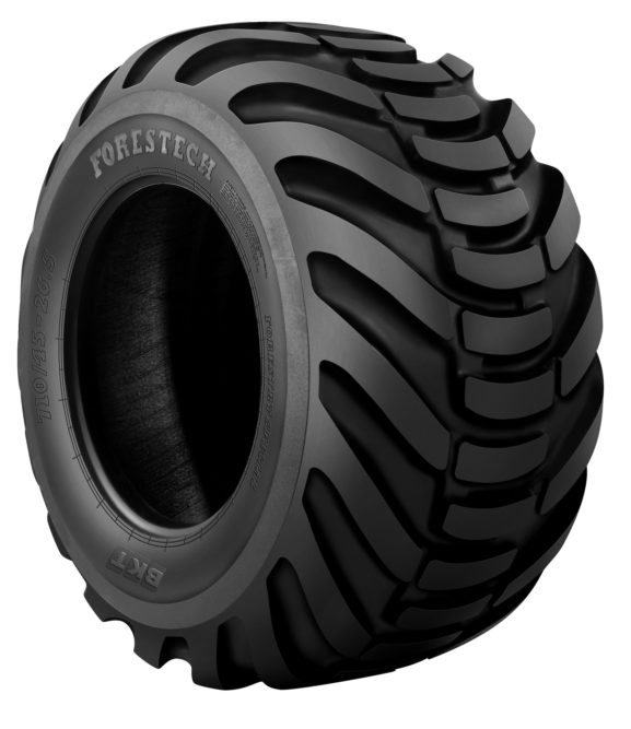 BKT Has a Range of Tires for Forestry Applications