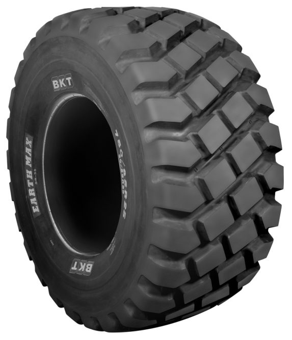 BKT Highlights Earthmax Tires at ConExpo 2020