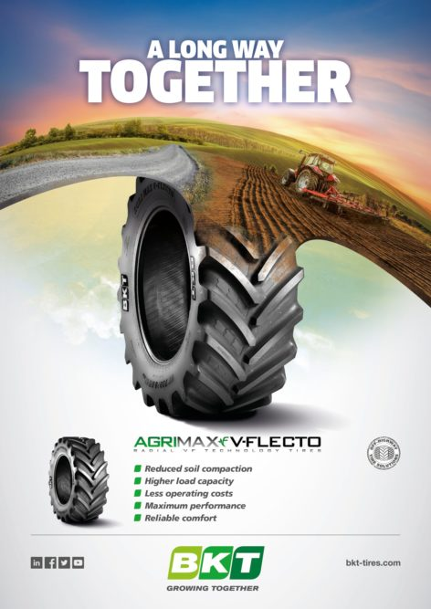 BKT Promotes Togetherness in New Tire Tagline