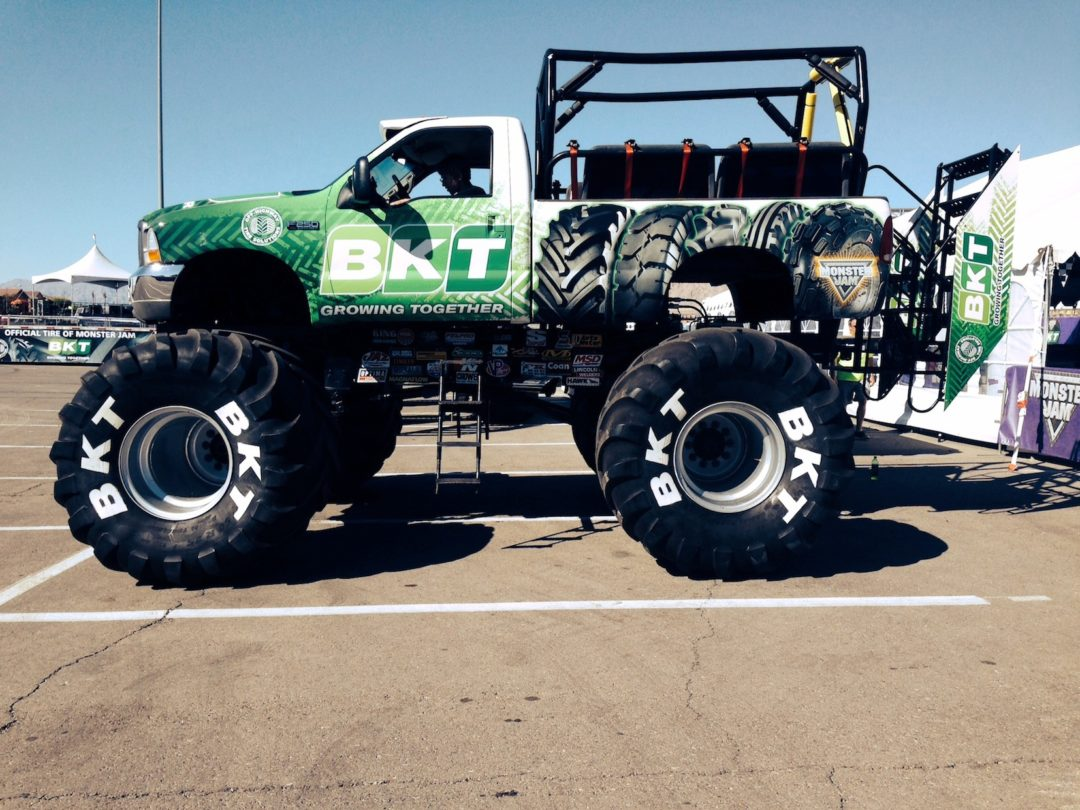 BKT sponsors Monster Jam tour