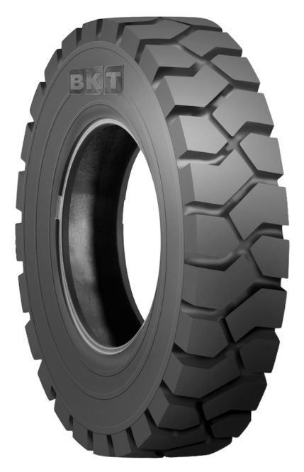 BKT to Show New Forklift Tire at Bauma 2016