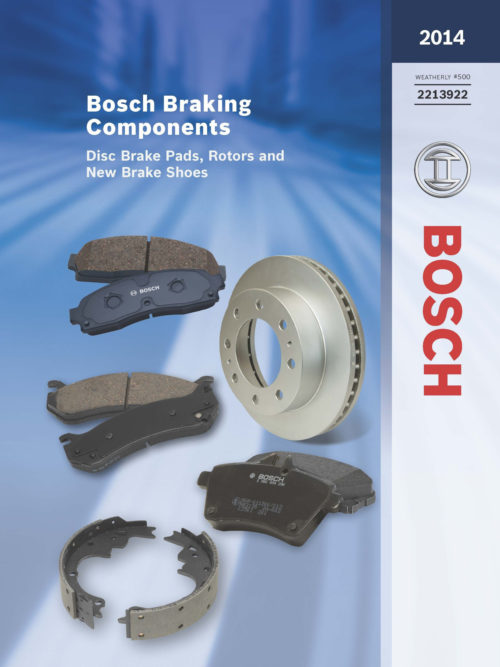 Bosch 2014 Brake Catalog Covers Back to 1946