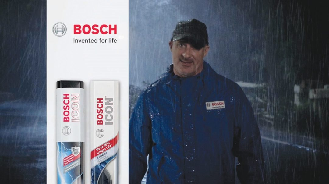 Bosch ad campaign to feature Jim Cantore