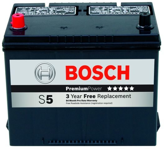 Bosch introduces S-line batteries in the U.S.