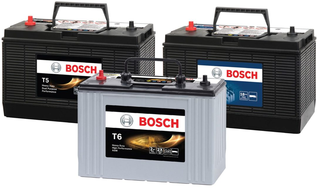 Bosch Launches Commercial Vehicle Battery Line