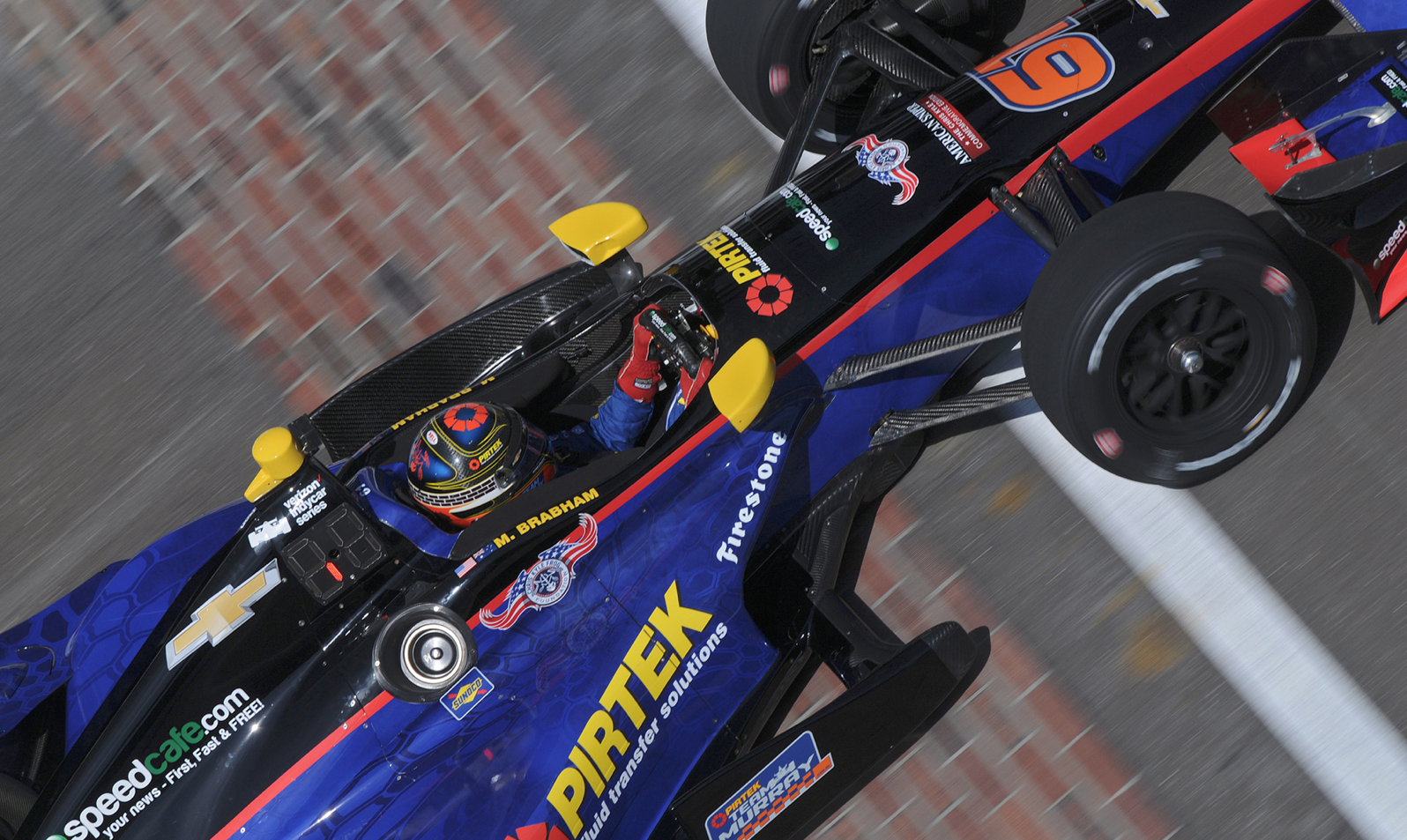 Brabham Enthused By First Indycar Foray
