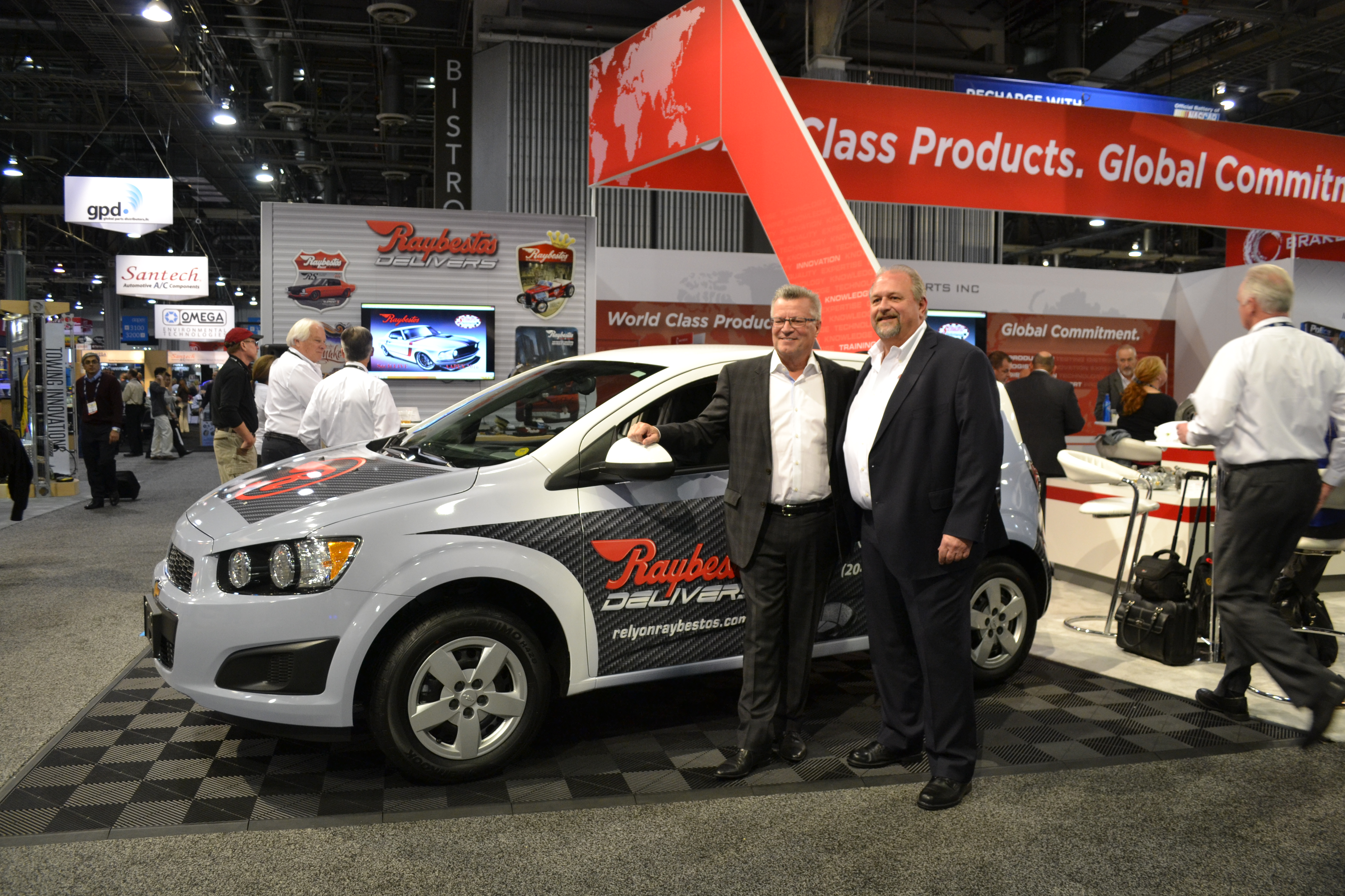 Brake Parts Gives Grand Prize to Winner at AAPEX