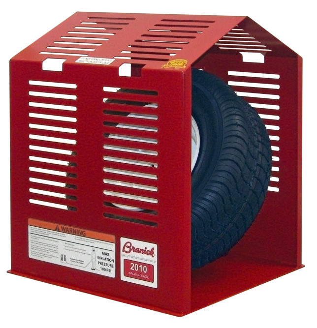 Branick Introduces Inflation Cage for Small Utility Tires