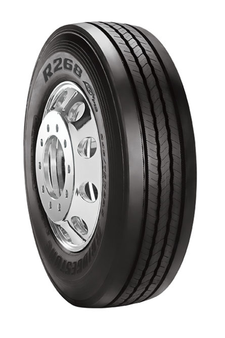 Bridgestone has a new Ecopia regional fleet tire