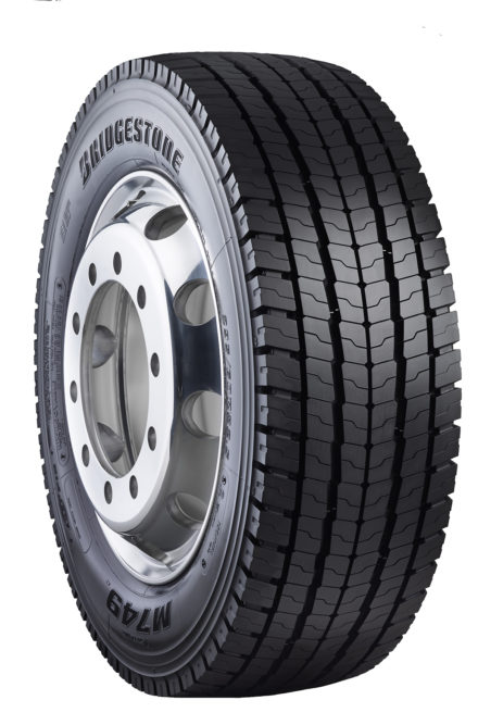 Bridgestone has its first tire for auto haulers