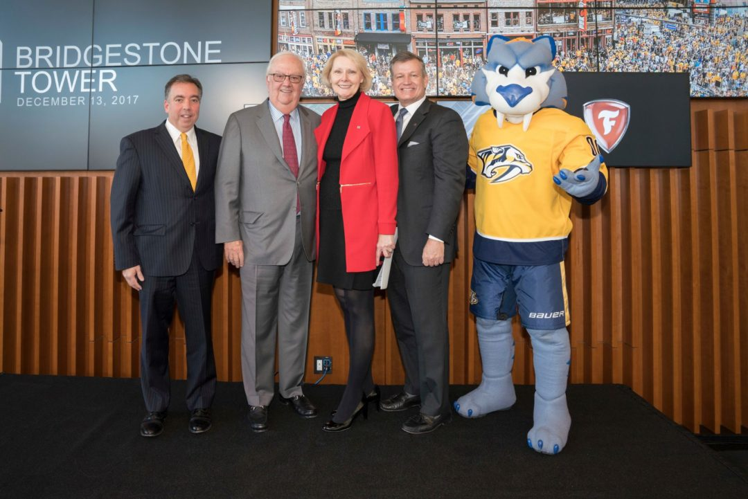 Bridgestone Officially Opens New Headquarters and Extends Arena Partnership