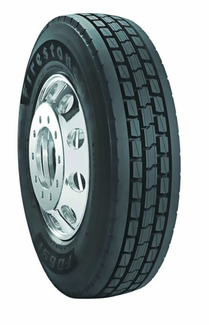 Bridgestone says 'drive' a Firestone truck tire