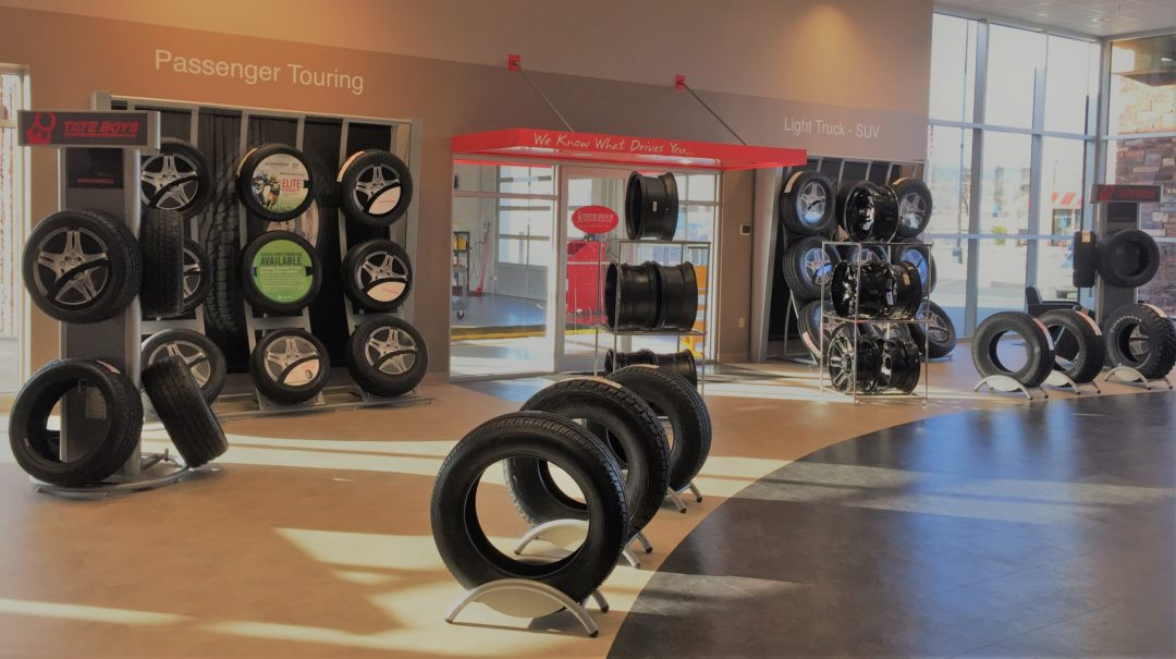 Bridgestone Unwraps New Retail Showroom Look for Dealers