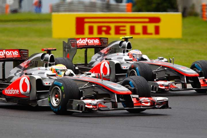 Button victorious at the Hungaroring