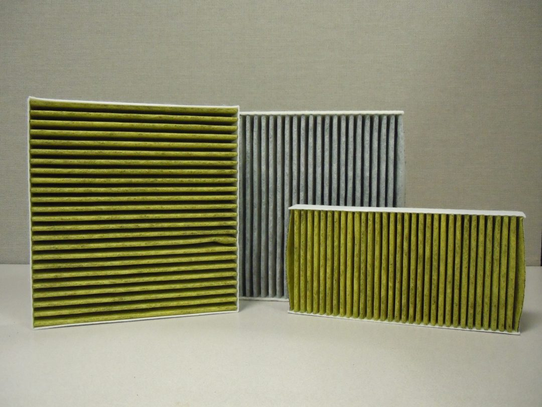 Cabin filters have three-layer technology