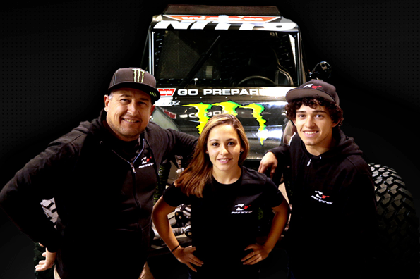 Campbell family now set to race on Nitto Grapplers