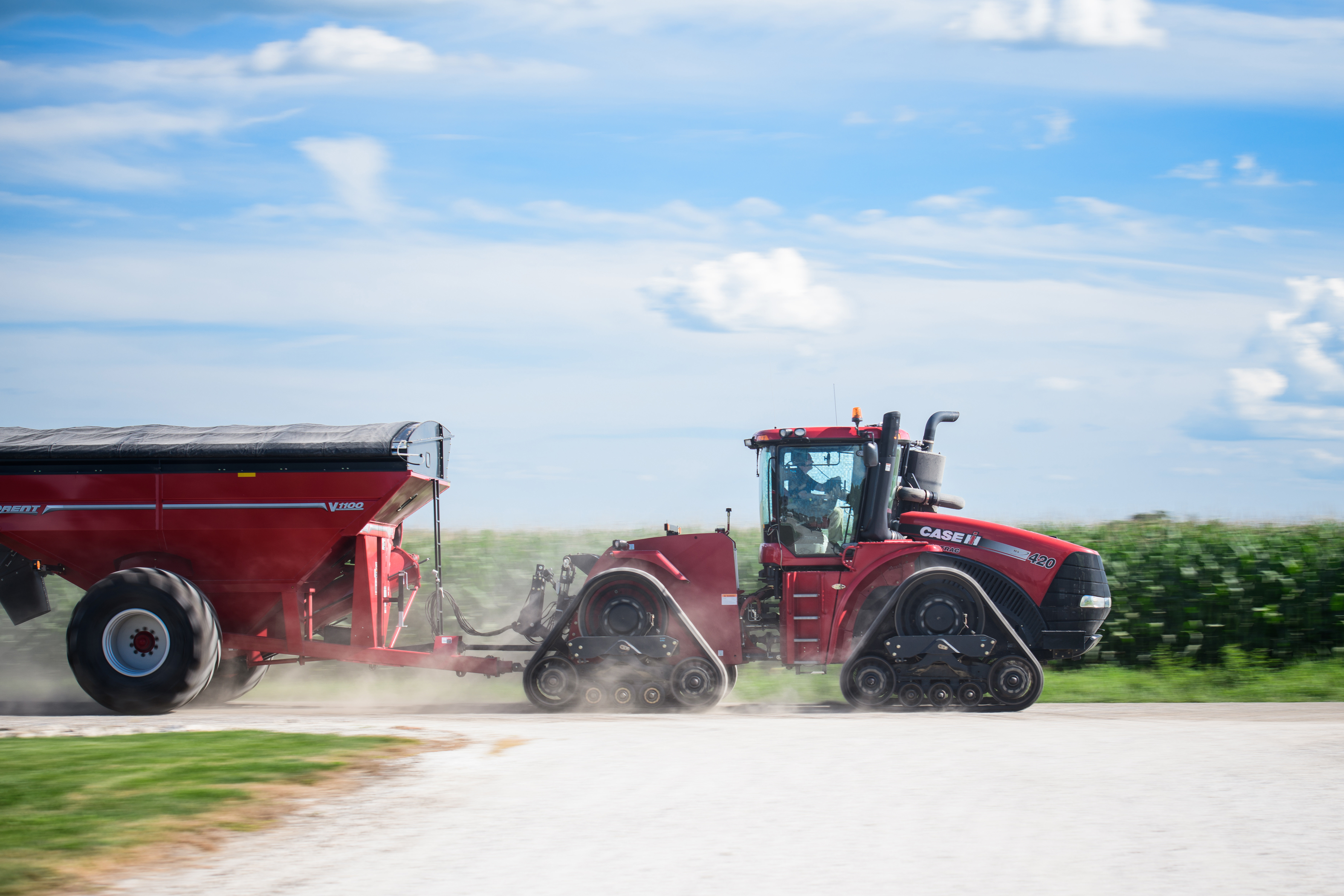 Camso Improves Road Speed With RD 4500 Tracks