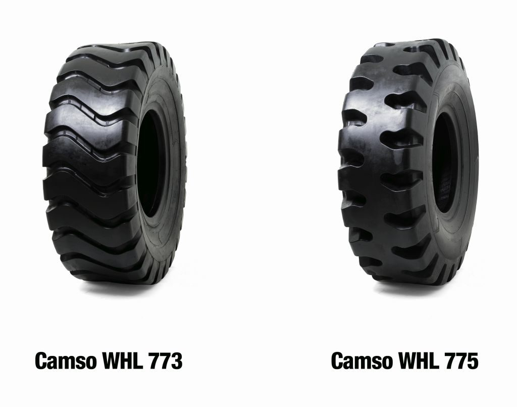 Camso Launches Two Tires for Wheel Loaders
