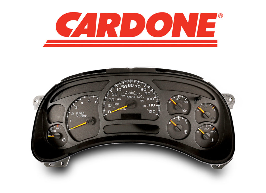 Cardone Introduces Remanufactured Instrument Clusters