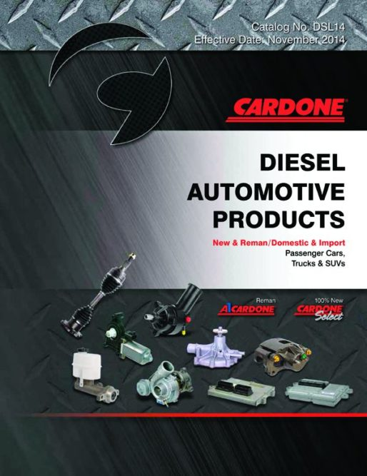 Cardone Releases Diesel Parts Catalog