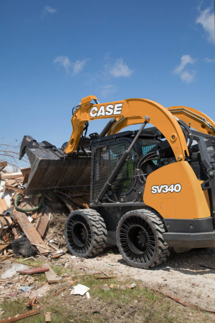 Case Skid Steers Will Be the First to Offer Michelin Tweel as OE