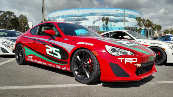 Centerforce is an official supplier of the Toyota Pro/Celebrity Race in Long Beach