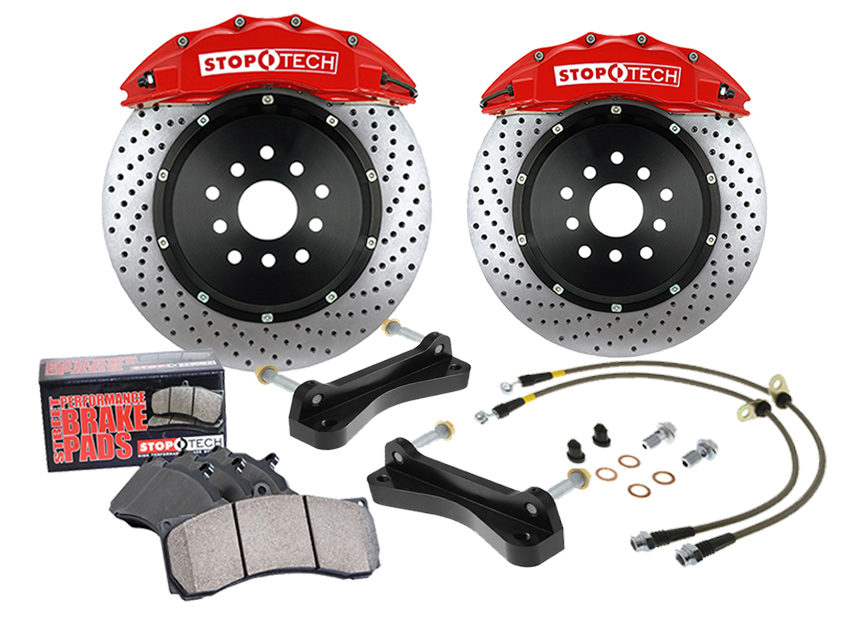 Centric Parts Adds StopTech Brake Kits for 2015 Ford Mustang GT
