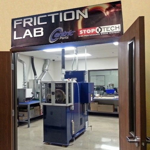 Centric Parts opens friction materials lab