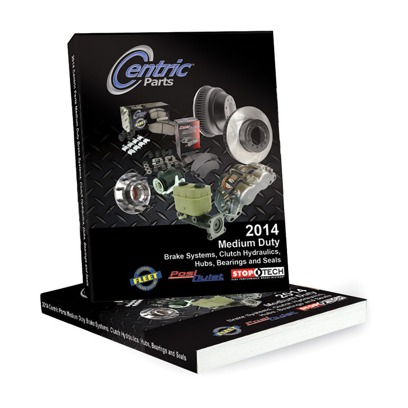 Centric Parts releases MD brake catalog