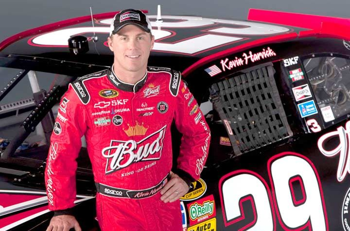 Champion spokesperson Kevin Harvick to 'Chat' Live on Twitter and VYou.com