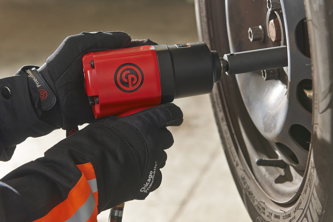 Chicago Pneumatic has new impact wrenches