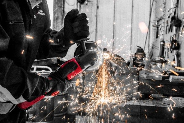 Chicago Pneumatic Has Two New Cordless Angle Grinders
