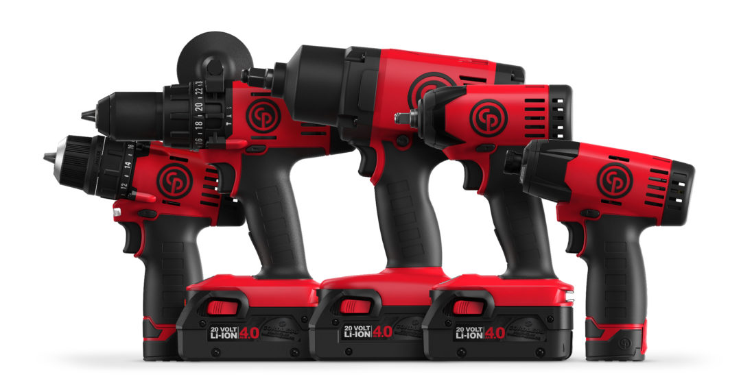 Chicago Pneumatic will unveil new cordless tools