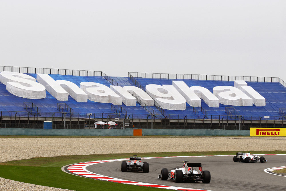 Chinese Grand Prix from a tire point of view