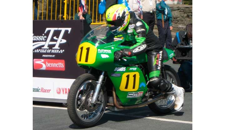 Clean sweep for Avon racing tires at the 500cc Classic TT