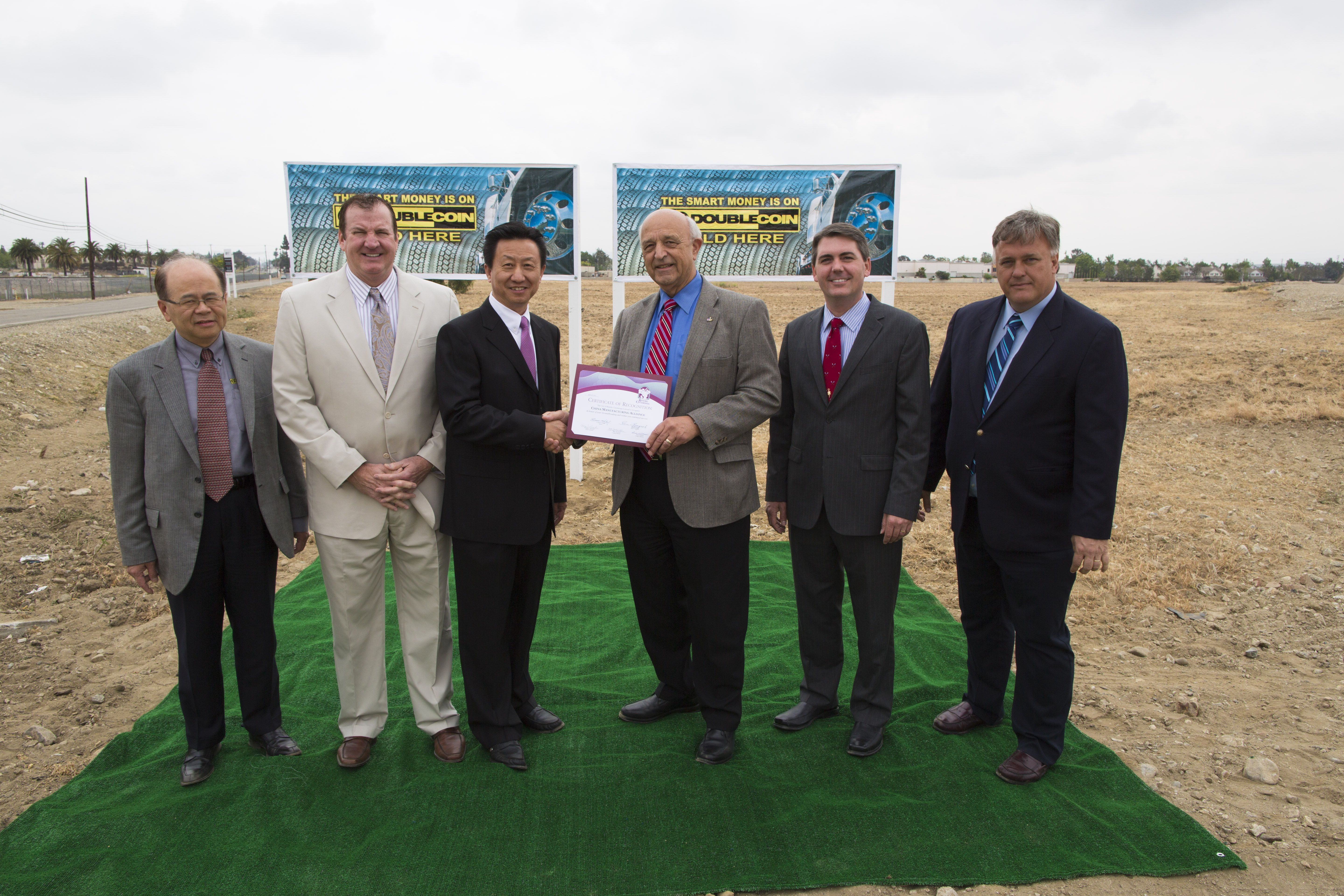 CMA breaks ground on a new distribution center