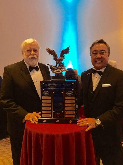 Coker Tire Receives Supplier Award from Antique Automobile Club of America