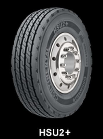 Conti enhances truck tire for waste hauling