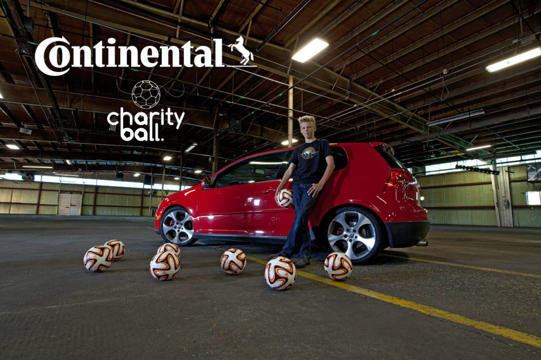 Continental gives 1,000 soccer balls to charity
