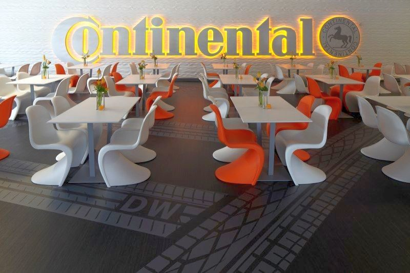 Continental gives back in a big way