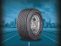 Continental has a wide-base drive tire for sale