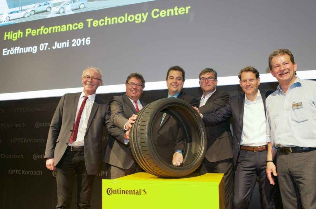Continental Opens High Performance Technology Center