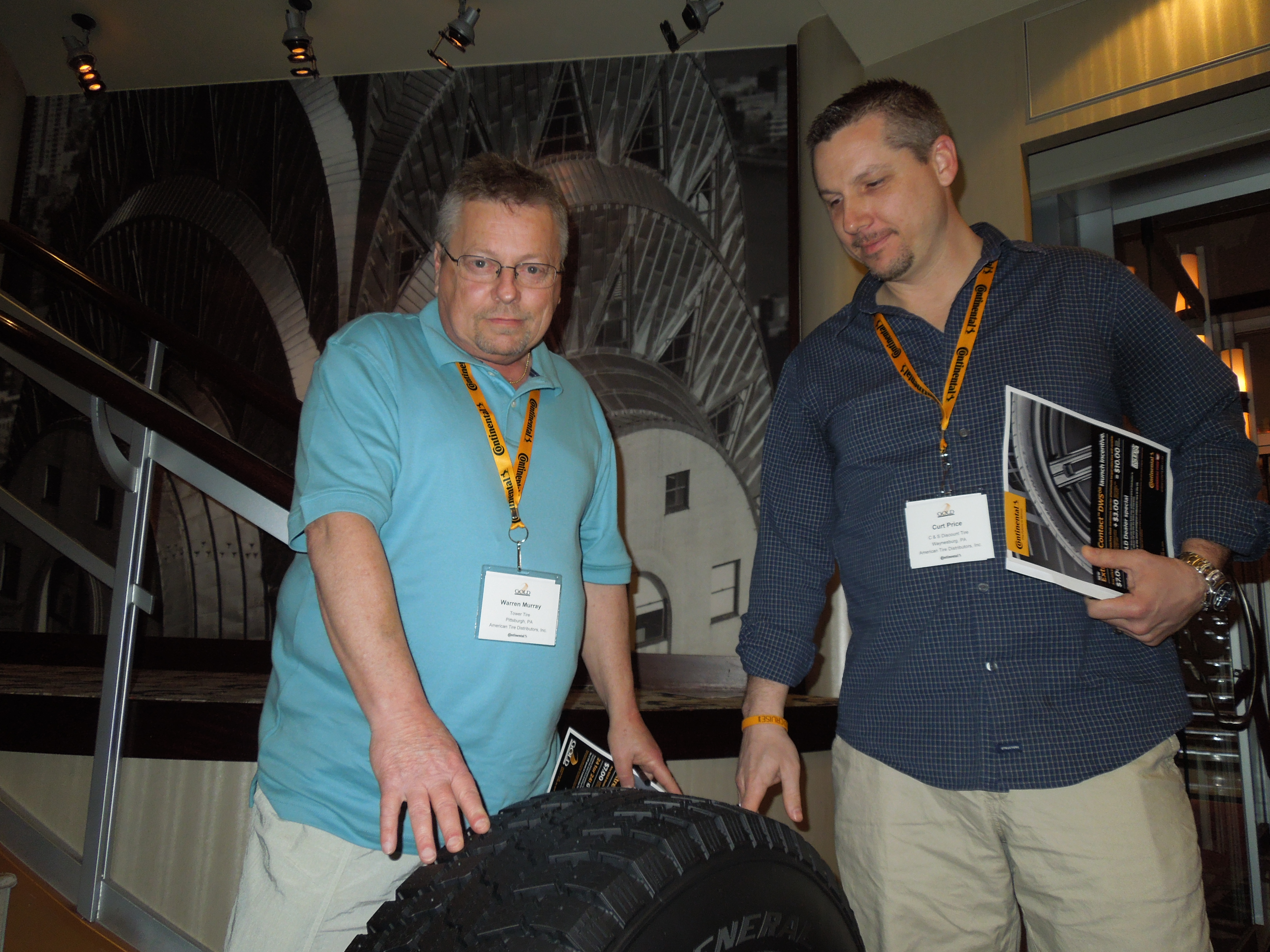 Continental reveals plans, products on dealer trip