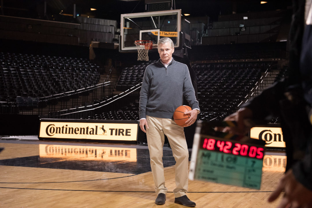 Continental's New College Basketball Commercials Feature Dan Patrick