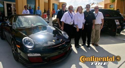 Continental Tire helping sick kids with Porsche giveaway