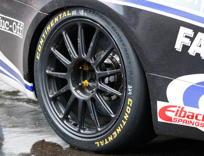 Continental Tire Helps Make History at the Brickyard