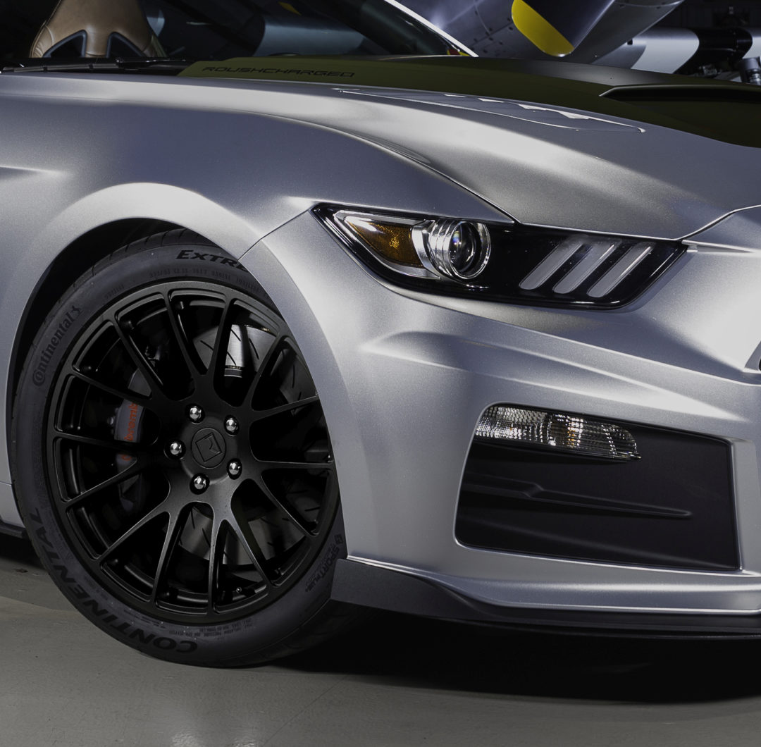 Continental UHP Tire Chosen for 2018 Roush Mustangs