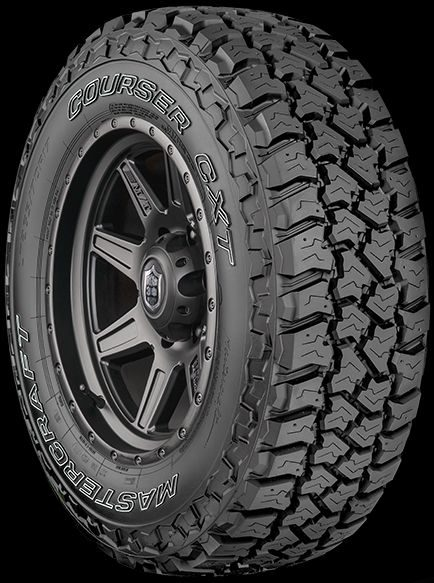 Cooper Adds Courser CXT Tire to Mastercraft Line