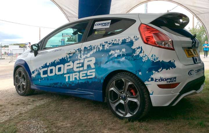 Cooper Tire to feature at 15th anniversary Rallyday
